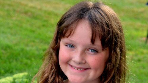 Ava Cheff, age 8