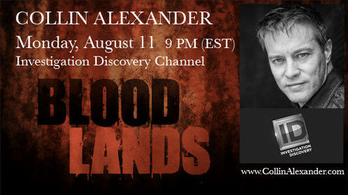 "New show on Discovery ID, ""Bloodlands."" My episode, ""Death on the Range,"" will air again, on Saturday, August 16, at noon (EST). I had the privilege of playing lead detective Sam Williams and work with Crazy Legs Productions. Very grateful for the opportunity. http://www.investigationdiscovery.com/tv-shows"