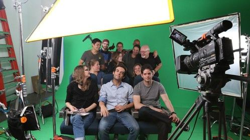 The Exploraciones cast and crew, good bunch of people.