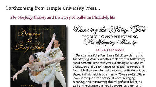 Check out my upcoming book on women's contributions to dance in Philadelphia!
