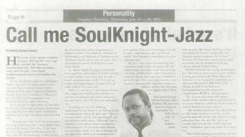 SoulKnight-Jazz in Graphic Showbiz, 12th July 2012