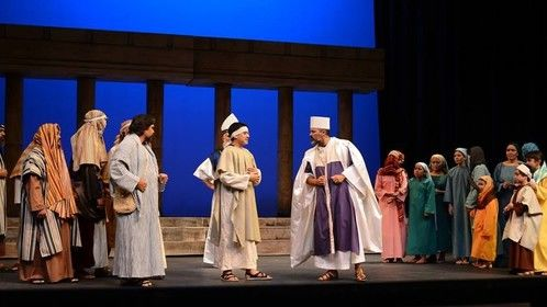Passion of Christ as Caiaphas lead role