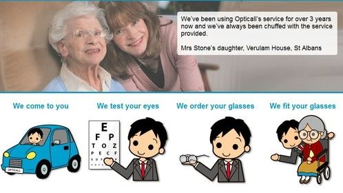 We offer eye test home service under book a free eye test in Buckinghamshire, Hertfordshire, Hillingdon and North London. We also provide Mobile eye care optician services in Bedfordshire, Hillingdon, Ealing and Essex. For more information visit: http://www.opticalleyecare.co.uk