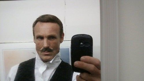 "As Bruce Ismay in ""Titanic."""