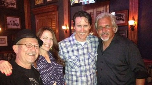 Me with director and producers for Lake Mead, my first Feature film as a Production Designer