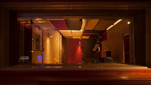 Film Sonic - tracking room