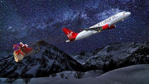 2013 Virgin Atlantic Santa