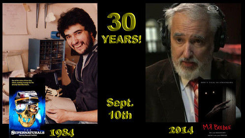 Thirty years working in motion pictures this week! SHEESH! Who knew it would go by so darned FAST!