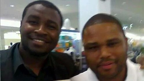 Me and Anthony Anderson.