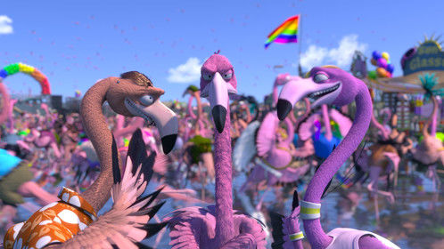 Flamingo Pride - Ciostume design - dir. by Thomer Eshed