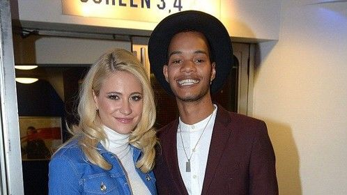 PIxie Lott and Harley 'RIzzle Kicks' Sylvester