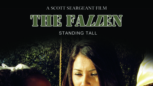 Poster from THE FALLEN shot on Red in 4K.