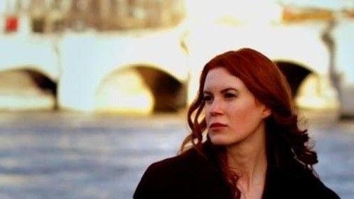Filming along La Seine in Paris, France