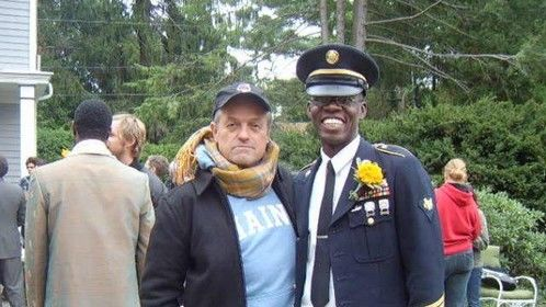 "Me and Oscar winning Director Jonathan Demme On the set of ""Rachel Getting Married"" Starring Ann Hathaway"