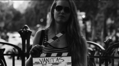 shooting for feature film  Vanitas in Paris Summer 2013