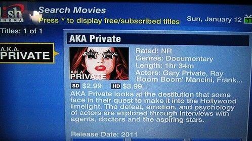 AKA Private on DISH Network!