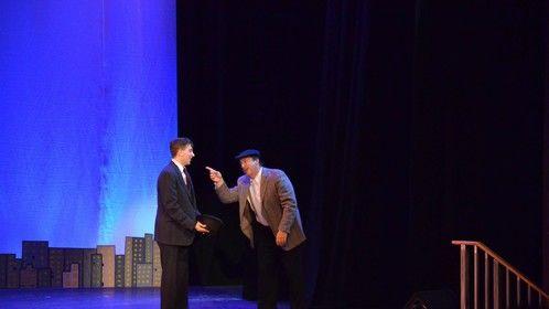 Doorman at Zigfield Theatre  - Ocean Professional Theatre Company - 2014  Photo by Marty Cominski