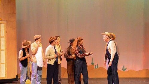 Everett Baker - Ocean Professional Theatre Company - 2014  Photo by Marty Cominski