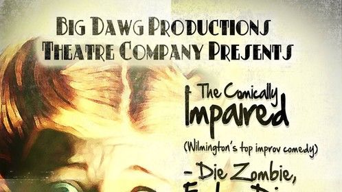 Hello Wilmington, NC! My two new horror comedies will be premiering Thursday through Sunday at Cape Fear Playhouse, staged by Big Dawg Productions. Please come see the show! Tickets on sale at www.bigdawgproductions.com.