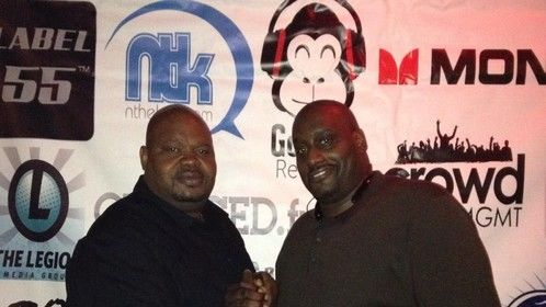 MNF Networking & Charity Event Series 2014 @ The Royal, NYC - NY Knicks Anthony Mason & GB Packers Gary Brown
