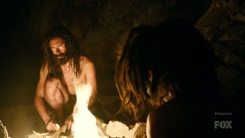 As Paleolithic man in Cosmos: A Space-Time Odyssey