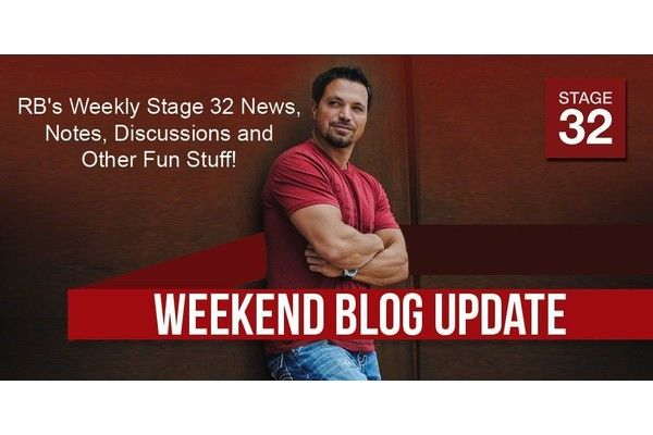 RB's Stage 32 News, Notes, Discussions and Other Fun Stuff (December 23, 2016)