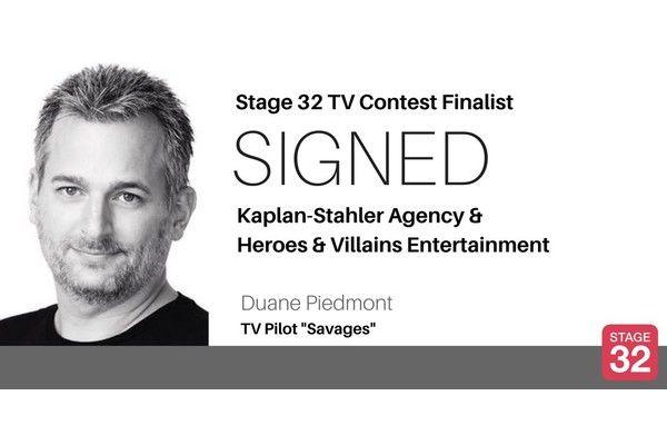Success! TV Contest Finalist Signs with Kaplan-Stahler & Heroes & Villains Entertainment!