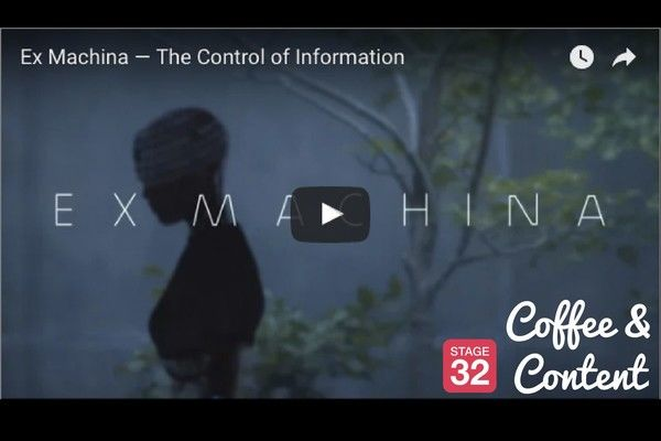 Coffee & Content - Screenplay Lessons From Ex Machina & Film Editing by Feel