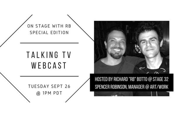 Special 'On Stage with RB' Webcast - Talking TV!