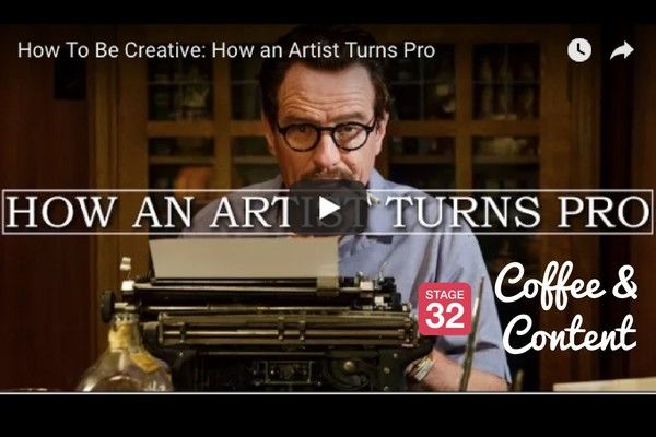 Coffee & Content - Building Your Creative Confidence & How an Artist Turns Pro