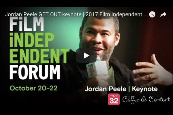 Coffee & Content - Brand Building for Screenwriters & Jordan Peele's Inspiring Keynote