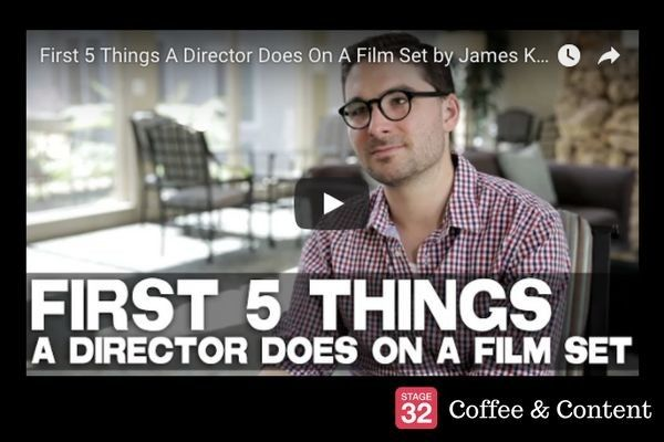 Coffee & Content - Crafting the Perfect Villain & 5 Things a Director Does on Set