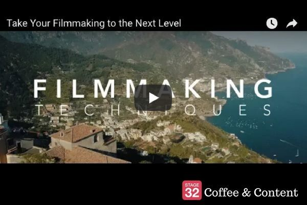 Coffee & Content - Taking Your Filmmaking to the Next Level & The Clues to a Great Story