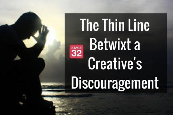 The Thin Line Betwixt a Creative's Discouragement