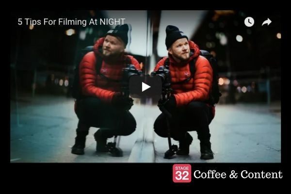 Coffee & Content - 5 Tips for Filming at Night & Rian Johnson on Screenwriting
