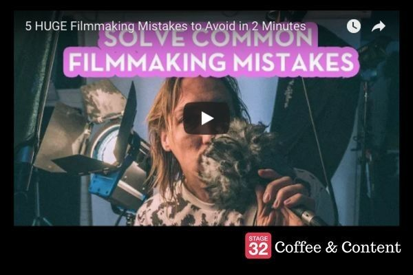 Coffee & Content - 5 Huge Filmmaking Mistakes to Avoid & Writing Tips From Stephen King