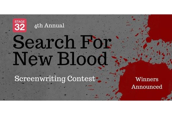 It's Time! The Winner of the Stage 32 Search For New Blood Contest