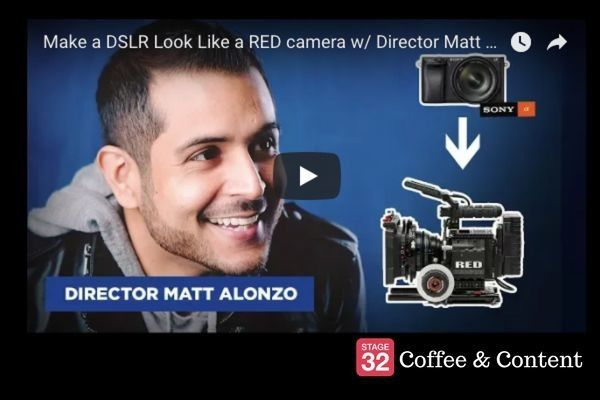 Coffee & Content - Making a DSLR Look Like a RED & Toy Story Script to Screen