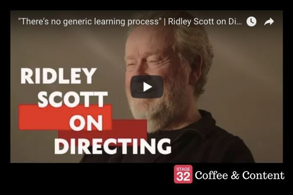 Coffee & Content - Ridley Scott on Directing & 10 Important Lessons on the Craft of Screenwriting