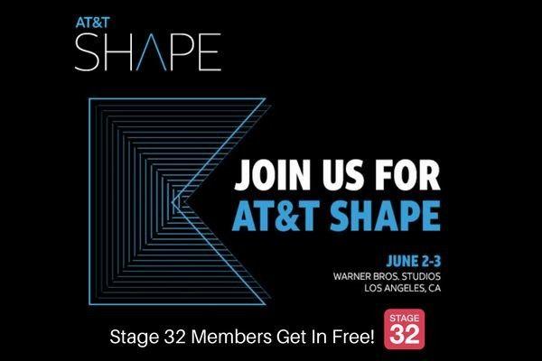 Join us at Warner Bros. Studios for AT&T SHAPE