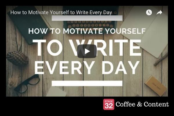 Coffee & Content - How to Motivate Yourself to Write Every Day & 50 Tips for Filmmakers