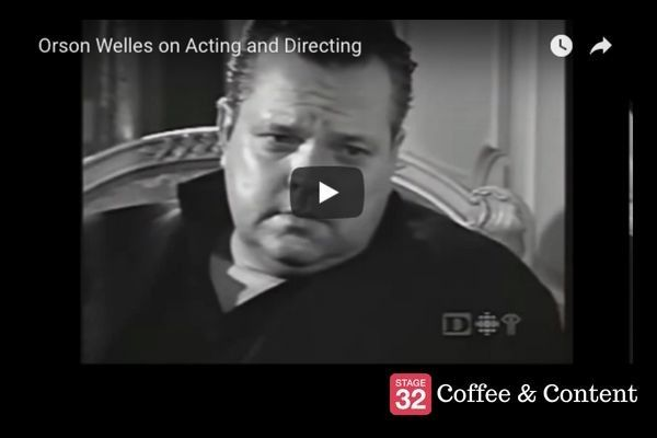 Coffee & Content - Orson Welles on Acting and Directing & David Lynch on Auditioning Actors