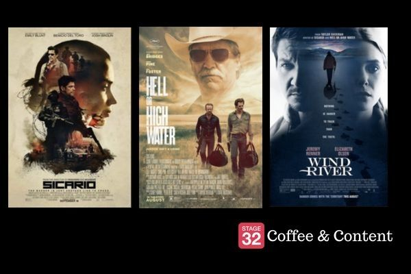 Coffee & Content - The Screenplays for Sicario, Hell or High Water & Wind River