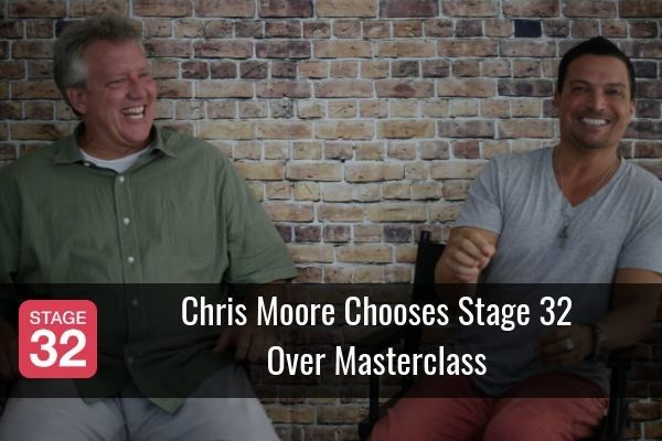 Chris Moore Chooses Stage 32 Over Masterclass
