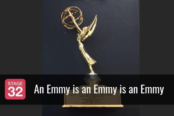 An Emmy is an Emmy is an Emmy
