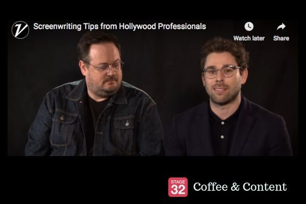 Coffee & Content - Screenwriting Tips from Hollywood Professionals & How to Start an Audition Speech
