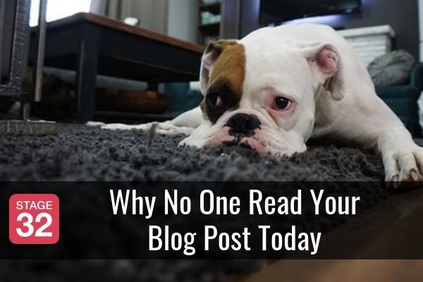 Why No One Read Your Blog Post Today