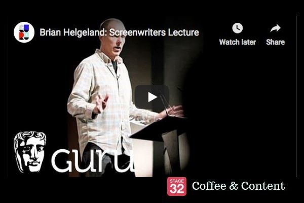 Coffee & Content - Brian Helgeland Screenwriting Lecture & How to Edit a Low-Budget Blockbuster