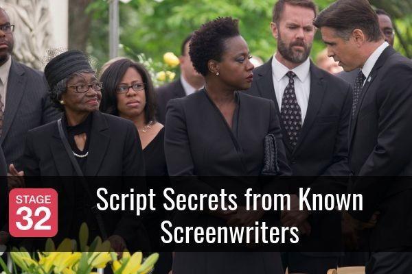 Script Secrets from Known Screenwriters