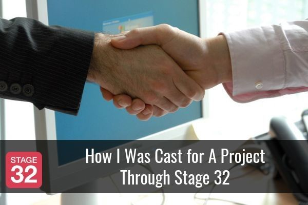 How I Was Cast for A Project Through Stage 32